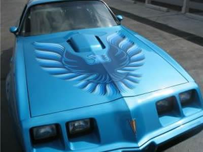A classic 1979 Pontiac Trans Am for sale