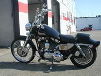 Image of a beautiful 2000 Harley Davidson Sportster