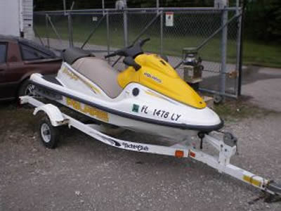 image of 2002 Polaris Virage waverunner for sale