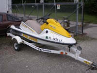 Image of 2002 Polaris Virage Waverunner
