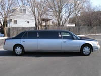 Image of a stylin 2005 Cadillac DeVille DTS limo