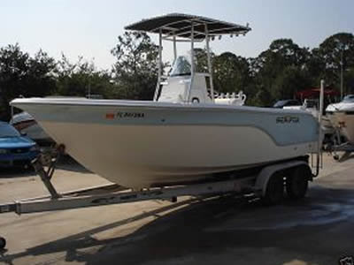 image of a standard 2006 Sea Fox 210CC Boat for sale