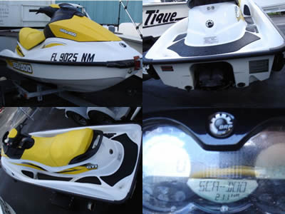 Crop of 2007 Seadoo GTI Wave Runner